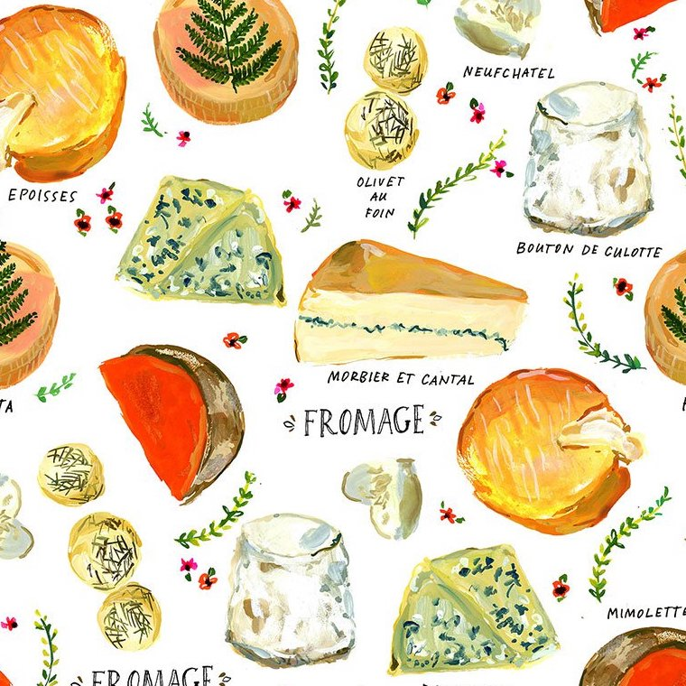 Pardon by French by August Wren : Fromage in White : Dear Stella