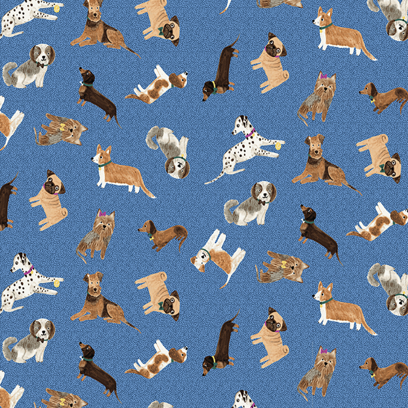 Uptown Dogs by Rebecca Jones : Y31443-88 : Clothworks