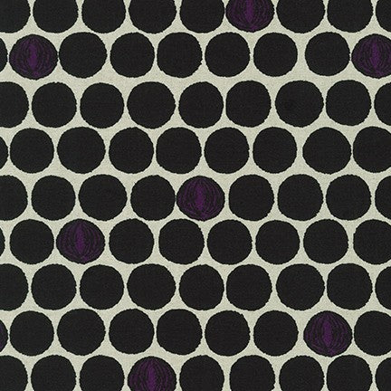 Cotton Flax Prints by Sevenberry : SB-850305D1-4 Black : Robert Kaufman