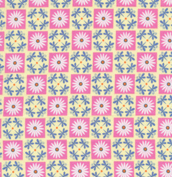 Garden Divas by Jane Sassaman : Daisy Check in Pastel : Free Spirit