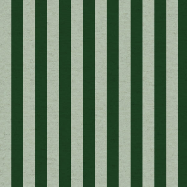 Primavera by Rifle Paper Co : Cabana Stripe in Mint : Cotton and Steel : Canvas