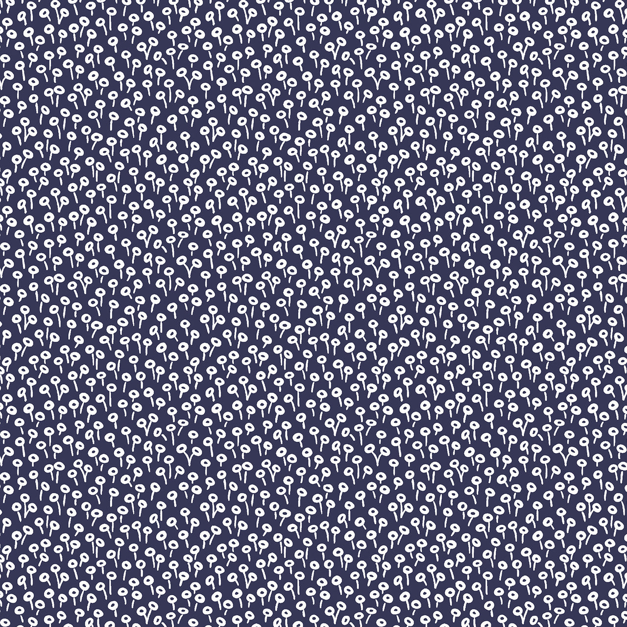 Rifle Paper Co Basics : Tapestry Dot in Navy : Cotton and Steel