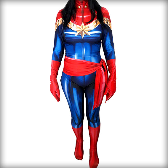 CAPTAIN MARVEL - SupergeekDesigns