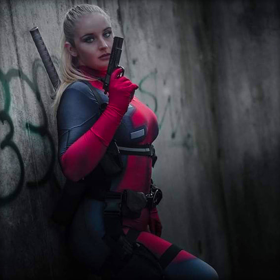 LADY DEADPOOL - SupergeekDesigns