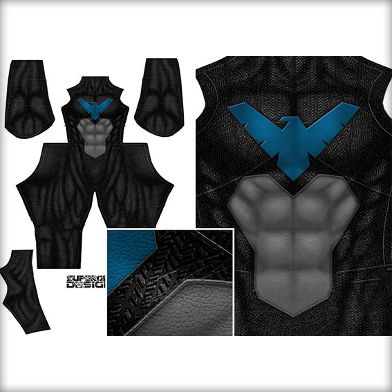 NIGHTWING 2 - SupergeekDesigns