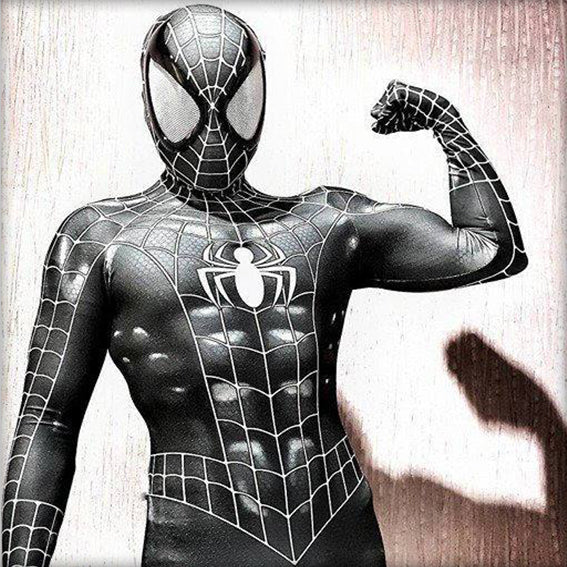 SPIDER-MAN COMIC SYMBIOTE - SupergeekDesigns