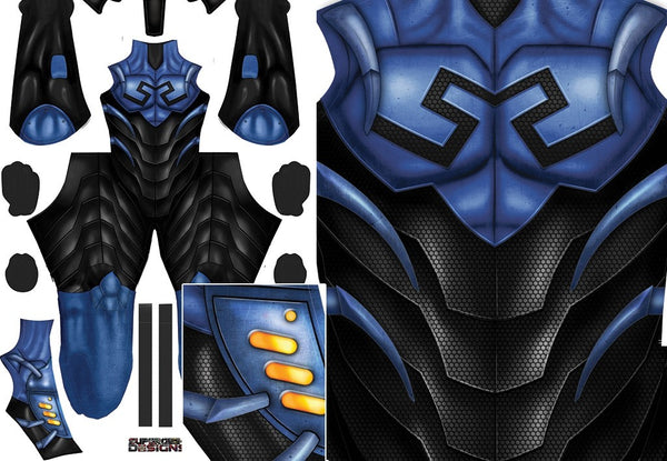 BLUE BEETLE - SupergeekDesigns