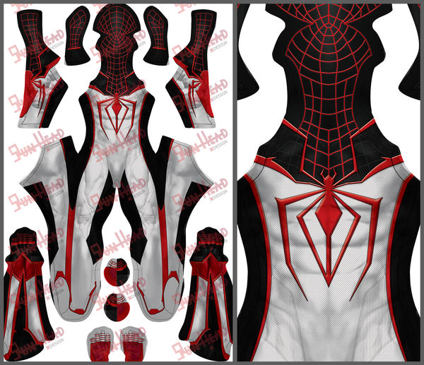 MILES MORALES PS5 Track Suit SPIDER-MAN - SupergeekDesigns