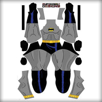 BATMAN ANIMATED - SupergeekDesigns