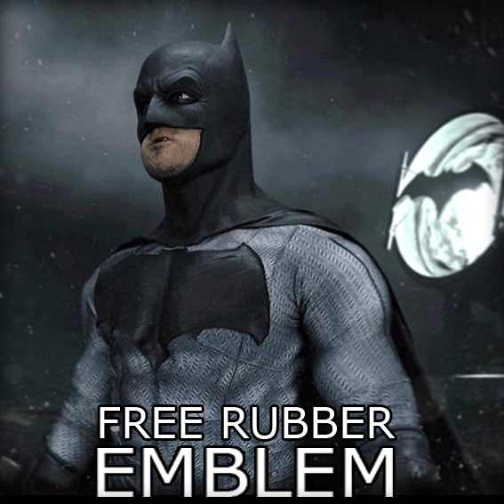 BATMAN with FREE EMBLEM - SupergeekDesigns