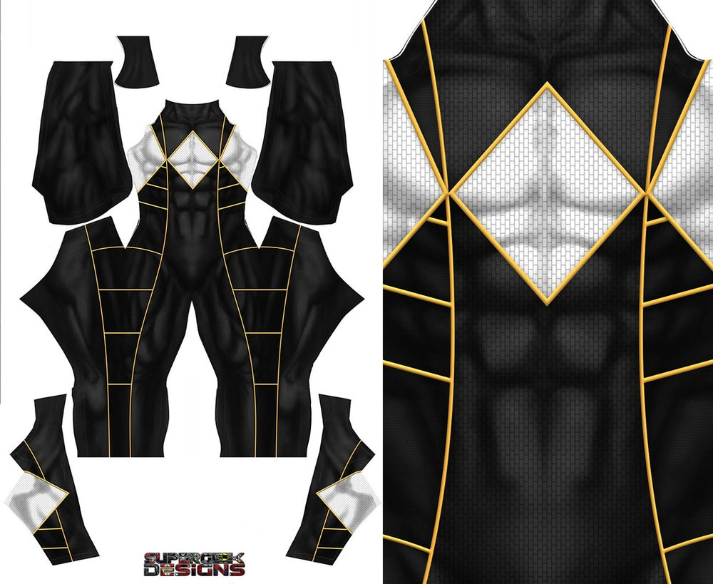 BLACK POWER RANGER - SupergeekDesigns