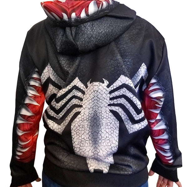 VENOM HOODIE version 2 - SupergeekDesigns