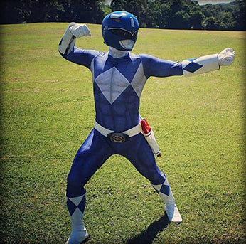 BLUE POWER RANGER - SupergeekDesigns