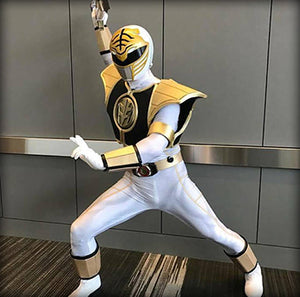 WHITE RANGER - SupergeekDesigns