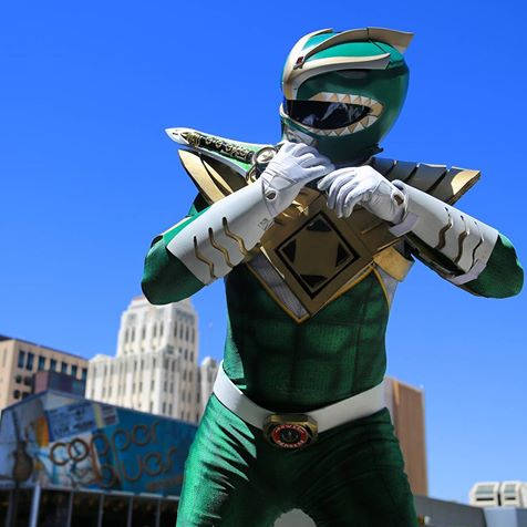 GREEN RANGER - SupergeekDesigns