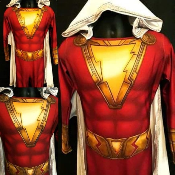 SHAZAM - SupergeekDesigns