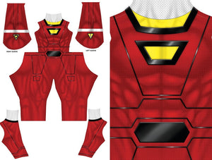 RED TURBO RANGER - SupergeekDesigns