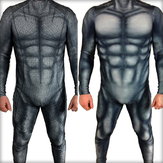 BATMAN & MUSCLE SUIT - SupergeekDesigns