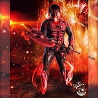 RED LANTERN - SupergeekDesigns