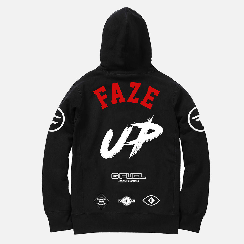 BLACK FAZE UP TEAM HOODIE