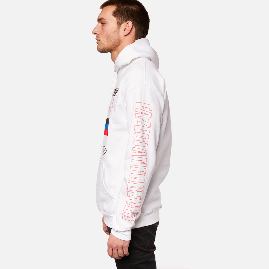 WHITE REPEAT WW HOODIE