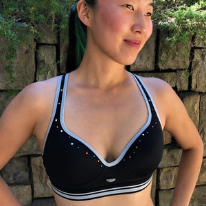 Keyhole Sports Bra (City Lights)