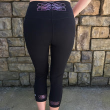 Carrie Slimming Capri (Pink Rose)