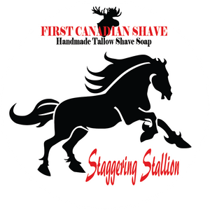 Staggering Stallion Tallow Shaving Soap