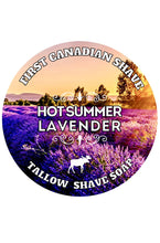 Hot Summer Lavender Shave Soap