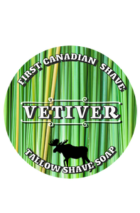 Vetiver Tallow Shaving Soap