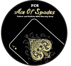 Ace of Spades Shaving Soap