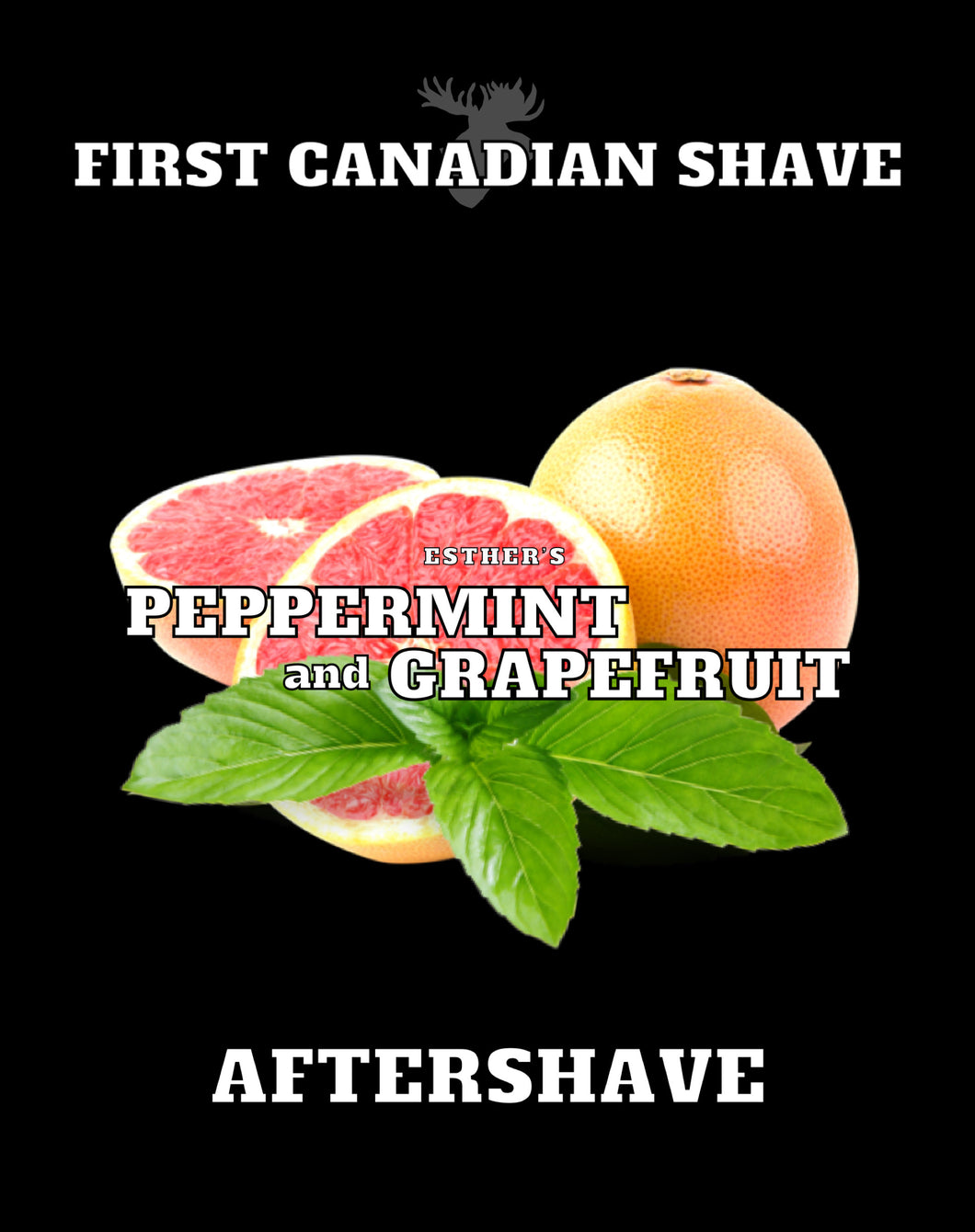 Esther's Peppermint and Grapefruit Aftershave