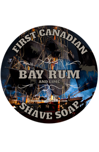 Bay Rum & Lime, Tallow Shaving Soap