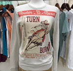 Turn and Burn Rockin' B Ranch Clothing Thermal TU-4211 Sand Thermal