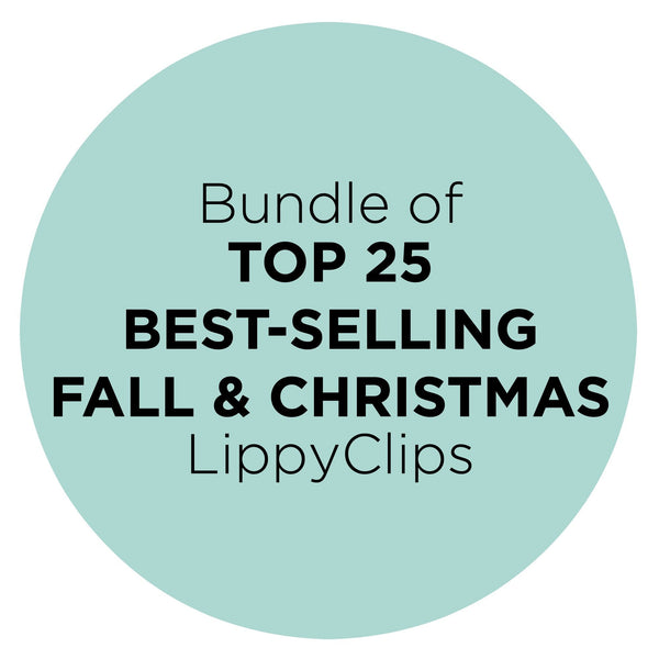 Bundle of 25 Fall & Christmas LippyClips