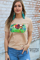 Bluebonnet Calf Tee