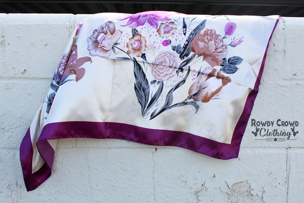 Lovely Lilac Wild Rag