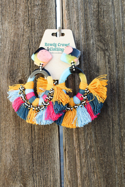 Fiesta Flare Earrings
