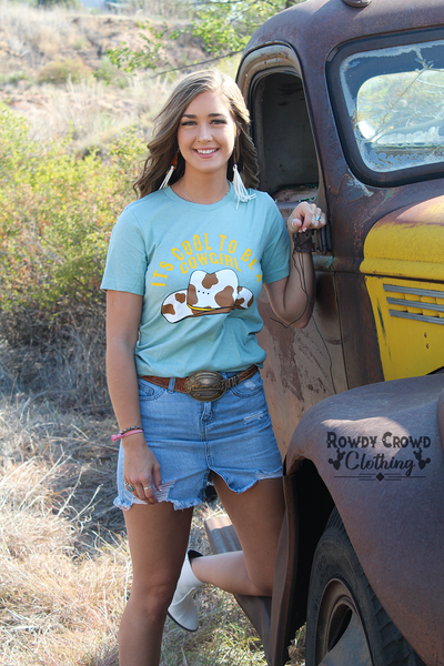 Cool To Be A Cowgirl Tee