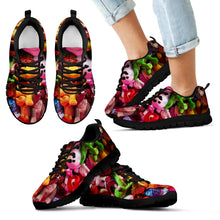 Kids Custom Floral Print Sneakers, - OMG I Really Want That