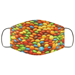 Skittles Face Mask - OMG I Really Want That