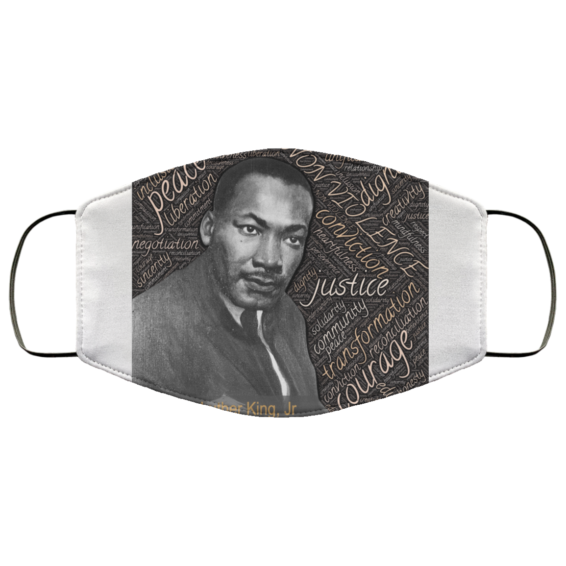Martin Luther King Jr Face Mask - OMG I Really Want That