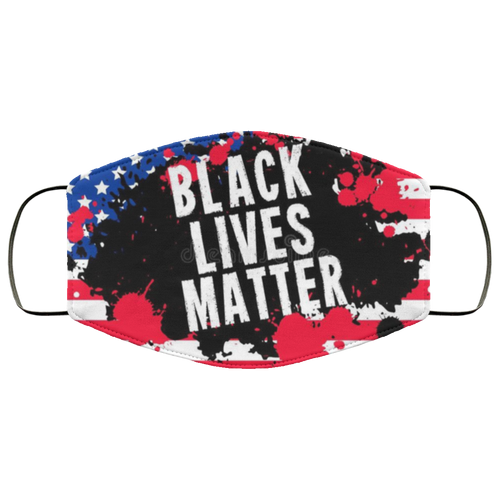 Black Lives Matter USA Face Mask