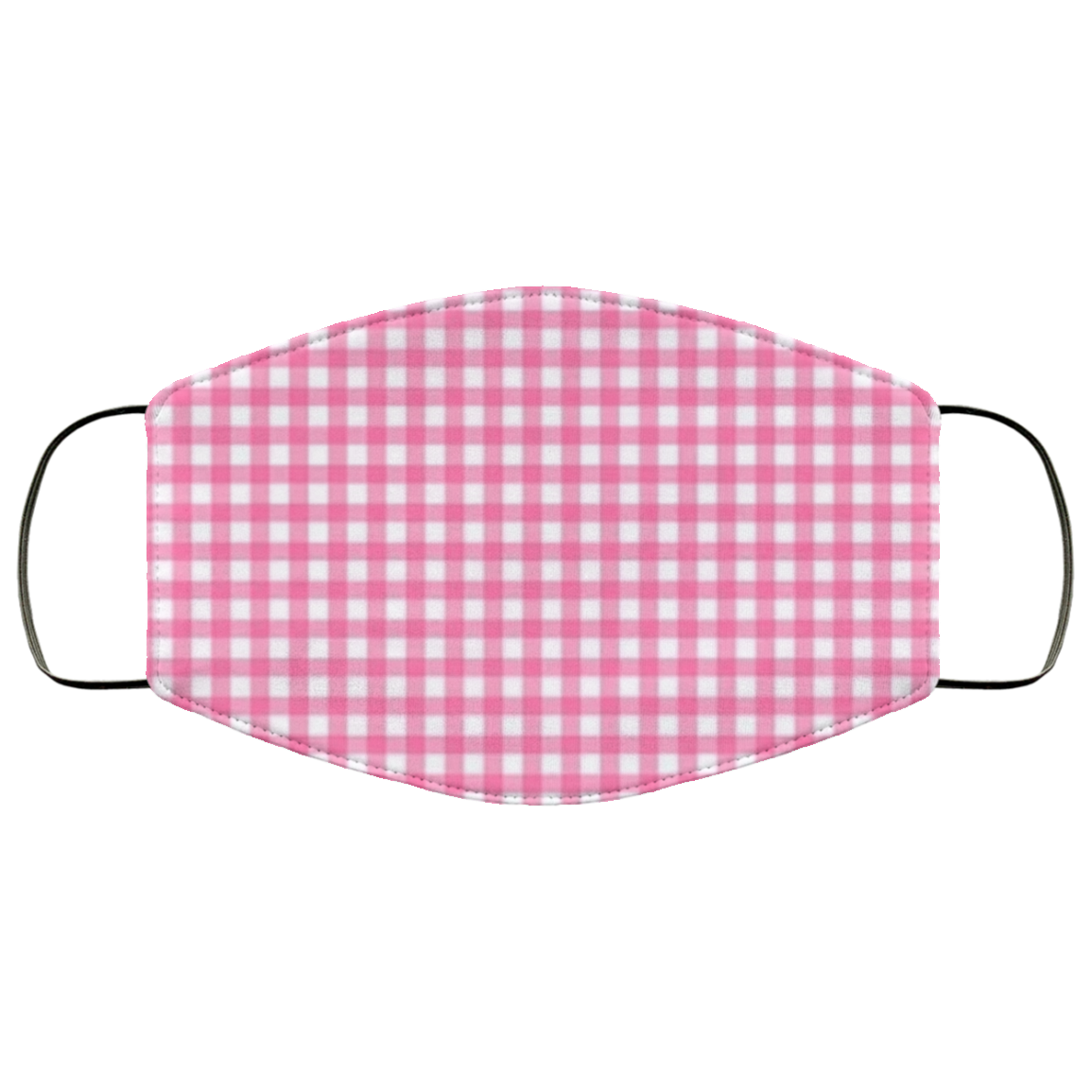 Pink Gingham Face Mask - OMG I Really Want That