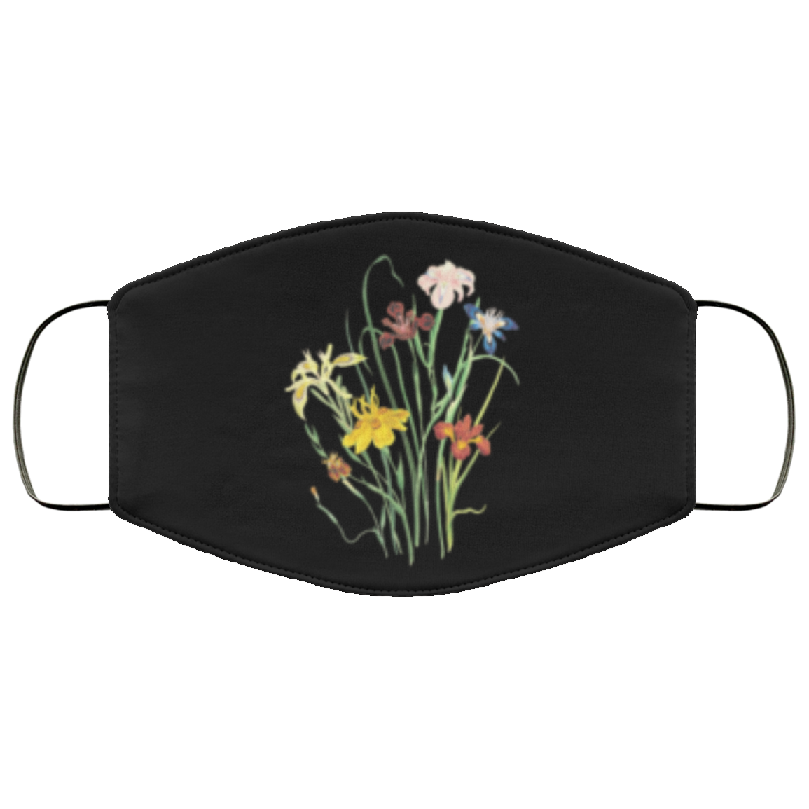 Flowers in the Dark Face Mask - OMG I Really Want That