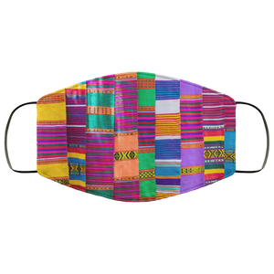 Kente Cloth Face Mask - OMG I Really Want That