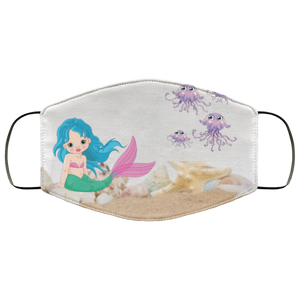 Mermaid Face Mask