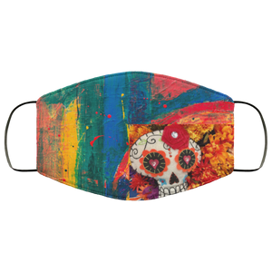 Color Skull Face Mask - OMG I Really Want That