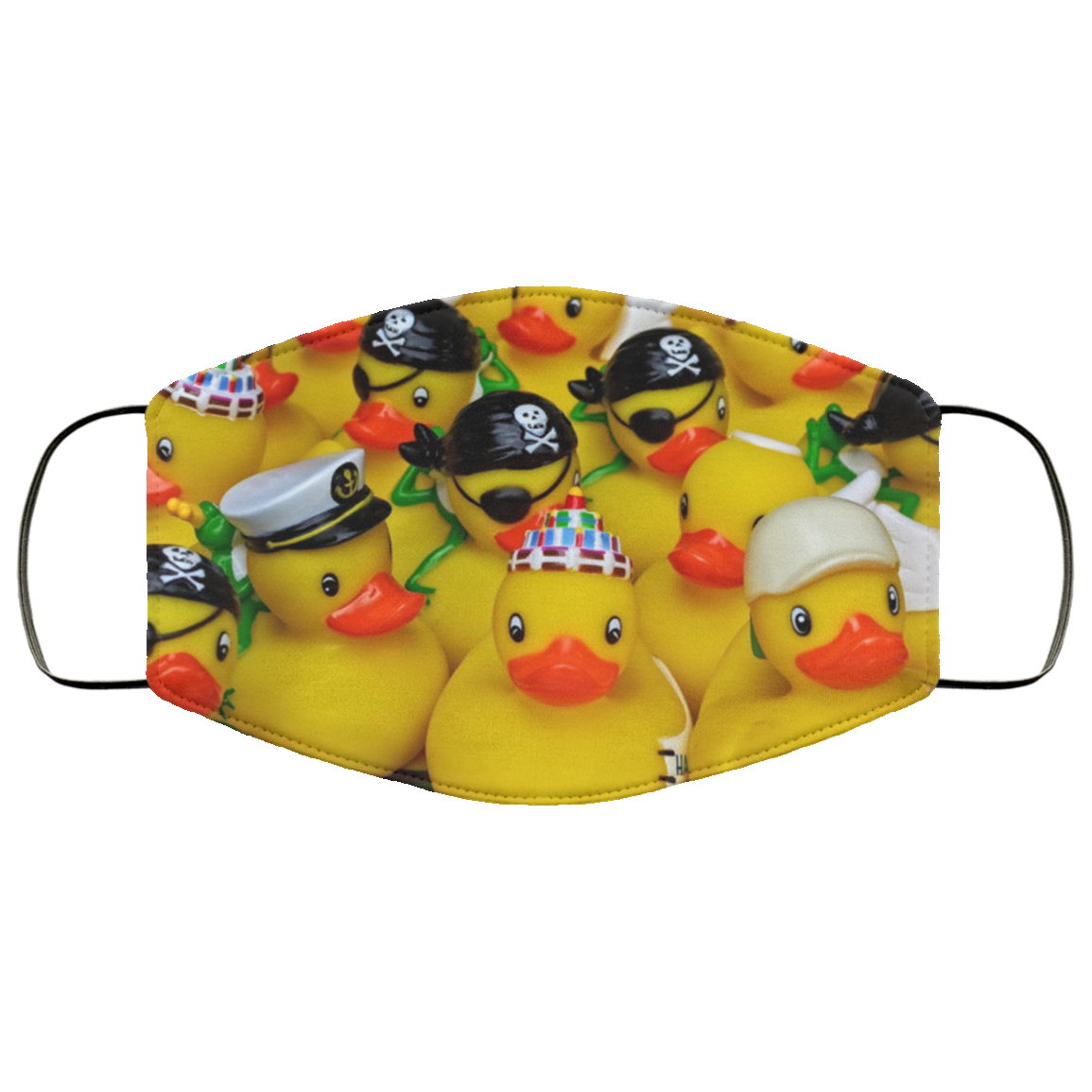 Rubber Duckies Face Mask