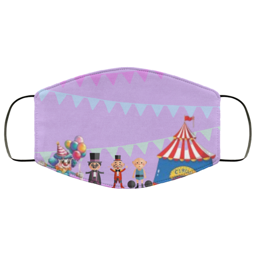 Circus Fun Face Mask